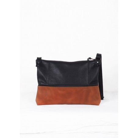 Leather Fanny Pack Mineral Simple