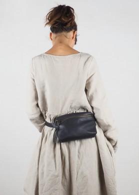 Leather Shopping bag · black Hibrid