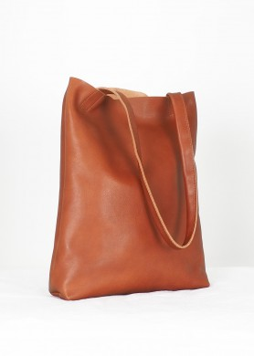 Man leather waist bag
