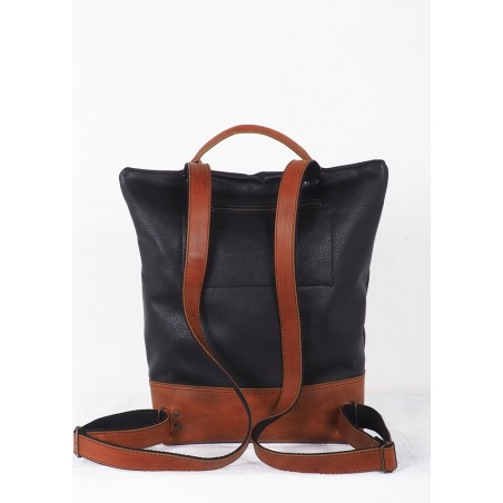 Leather  Medi bag Mineral