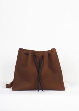 Brown Leather crossbody Bag...