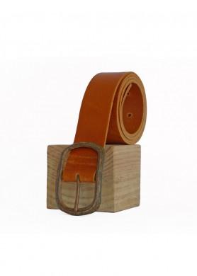 Cinturón de cuero marrón 40...