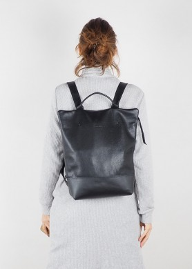 Leather Shopping bag · Red Hibrid