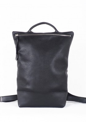 Black leather Backpack...