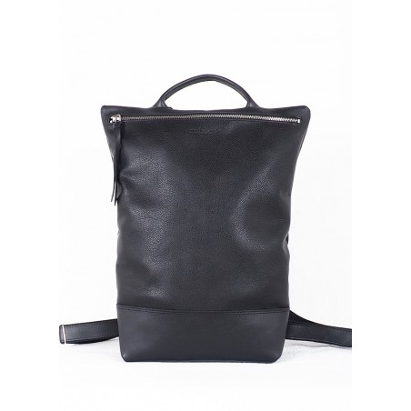Leather Tote bag · Red Hibid